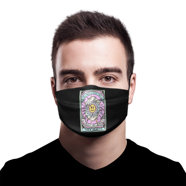 Mind Control Tarot Card face mask