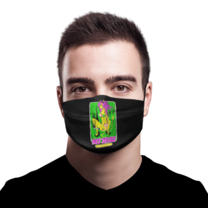 No gods no masters face mask