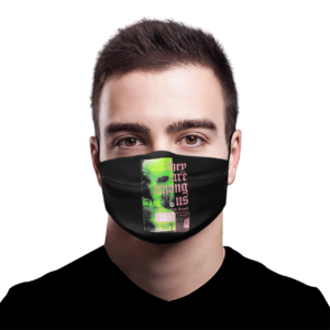 They Are Among Us face mask