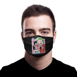 Quarantine Kisses face mask