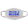 Wear A Mask Save Lives – Joe Biden President face mask