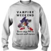 Vampire Weekend Sonic Says No To Fascism And Racism Shirt
