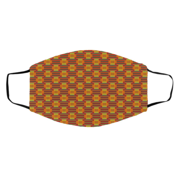 African Tribal Pattern Print face mask