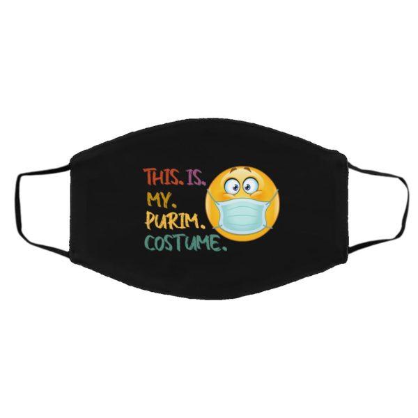 This Is My Purim Costume Jewish Face Mask Purim 2021 Face Mask