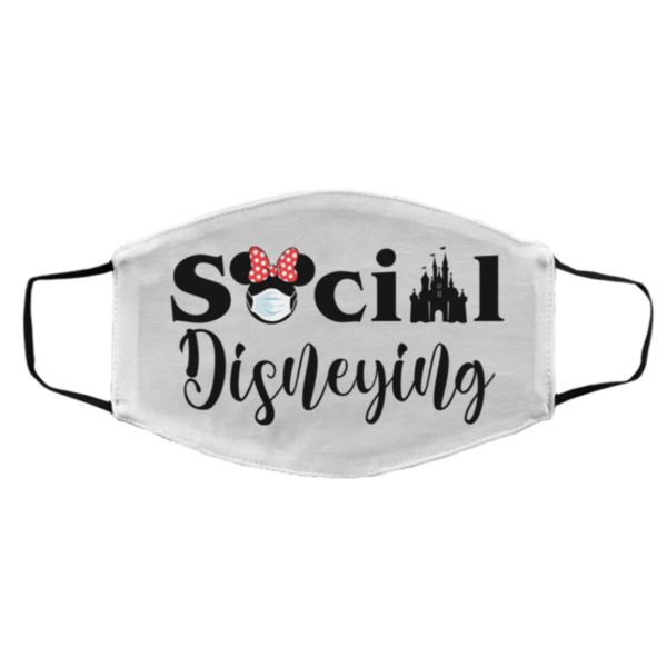 Social Disneying Wear Mask Funny Minnie face mask