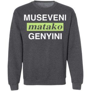 Museveni Matako Genyini Tee Shirt