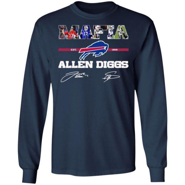 Buffalo Bills Mafia Allen Diggs signatures shirt