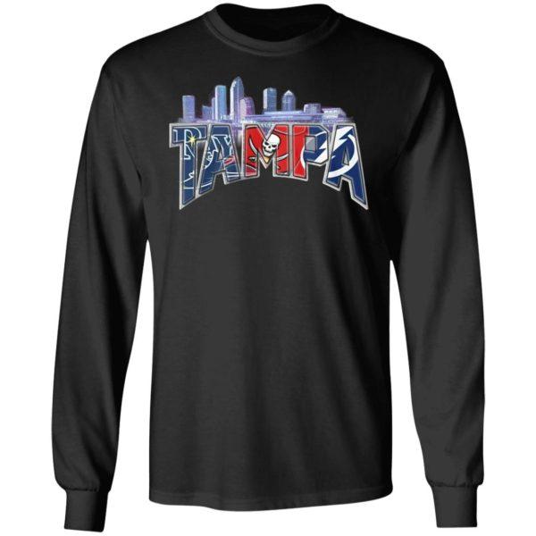 Tampa City Tampa Bay Rays Tampa Bay Buccaneers Tampa Bay Lighting Shirt