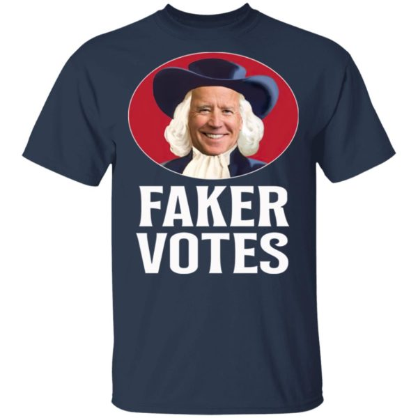Faker Votes Funny Election Shirt