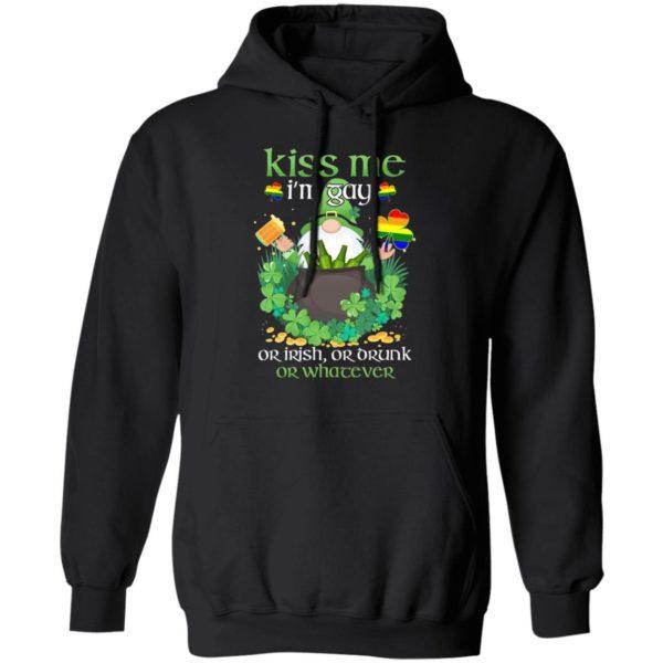 unny Gay St Patrick's Day Kiss Me I'm Gay Shirt