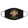 Retro RBG Ruth Bader Ginsburg If You Are Neutral In Situations Of Injustice Vintage Face Mask
