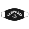 Red Tampa Bay Old School Pirate TB Cool Tampa Bay Mask