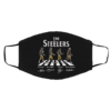 The Steelers Abbey Road Signatures Face Mask