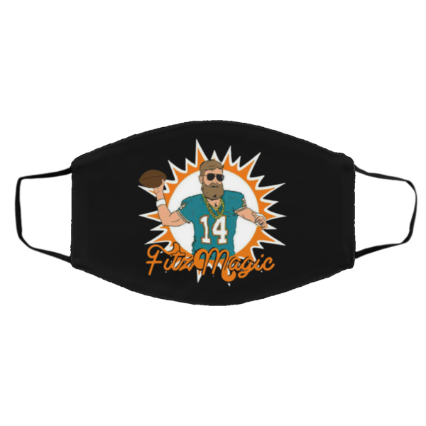 Miami Fitzmagic Ryan Fitzpatrick From Miami Dolphins NFL face Mask