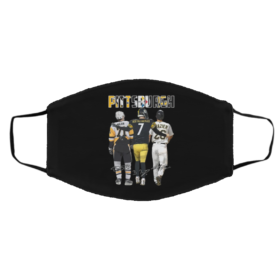 Pittsburgh Pittsburgh Steelers Pittsburgh Penguins malkin Roethlisberger Raizer signatures Face mask