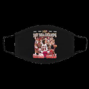 1997 Nba Champions Shirt, Chicago Bulls Shirt 1991 1992 1993 1996 Nba Champs Face Mask