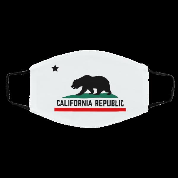 Ursus Americanus Of California Republic Mask