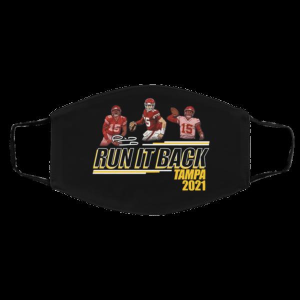 Run it back Tampa Bay Buccaneers 2021 Mask