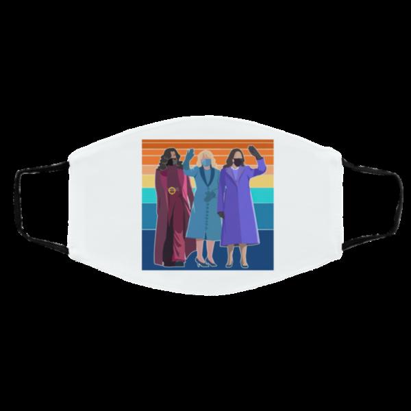 Feminist Shirt Inauguration Day 2021 Powerful Women in Power Inauguration Day Mask