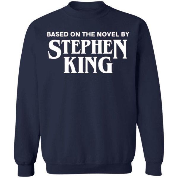 Based on the novel by Stephen King shirt