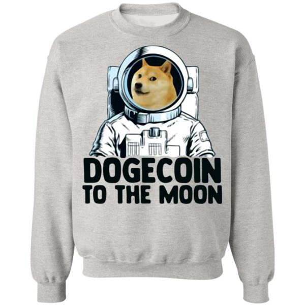Dogecoin Astronaut To The Moon Shirt