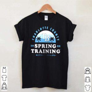 Tampa Bay Rays Charlotte County spring training 2021 vintage shirt
