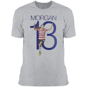 Morgan 13 shirt