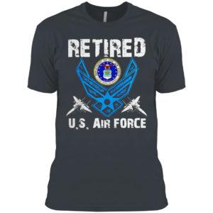 Retired U.S Air Force Veteran Patriotic Air Force Retired T-shirt
