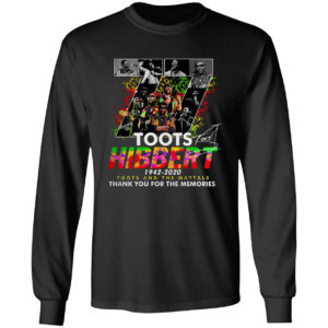 Original 77 years of Toots Hibbert 1942-2020 Toots And The Maytals Signature Shirt