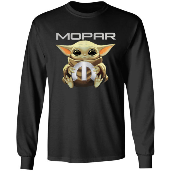 Baby Yoda And Mopar Shirt