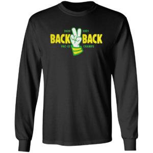 Back back pac 12 champs shirt