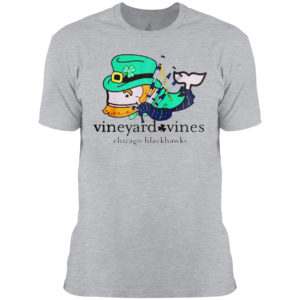 Chicago Blackhawks Vineyard Vines St Patricks Day Shirt
