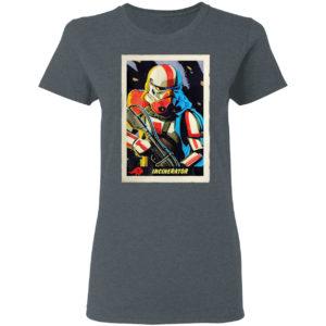Star wars the mandalorian incinerator stormtrooper card shirt