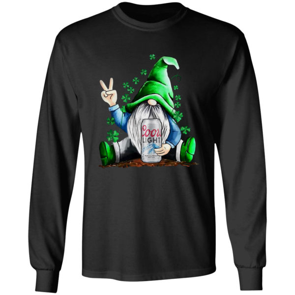 Gnome Coors Light Beer St. Patrick's Day shirt