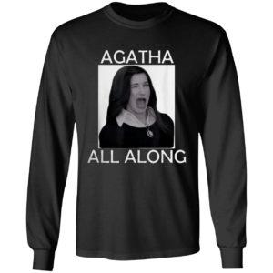 Agatha all along Marvel WandaVision Mini Series Shirt