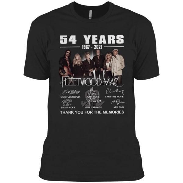 54 years1967 2021 Fleetwood Mac Mick Fleetwood signatures shirt