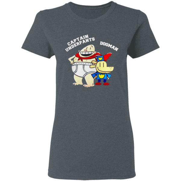 Dogman And Captain Underpants Shirt
