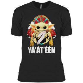Baby Yoda American nation hello shirt
