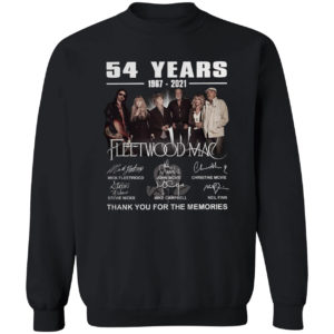 54 years1967 2021 Fleetwood Mac Mick Fleetwood signatures shirt