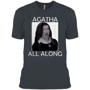 Agatha all along Marvel WandaVision Mini Series Shirt