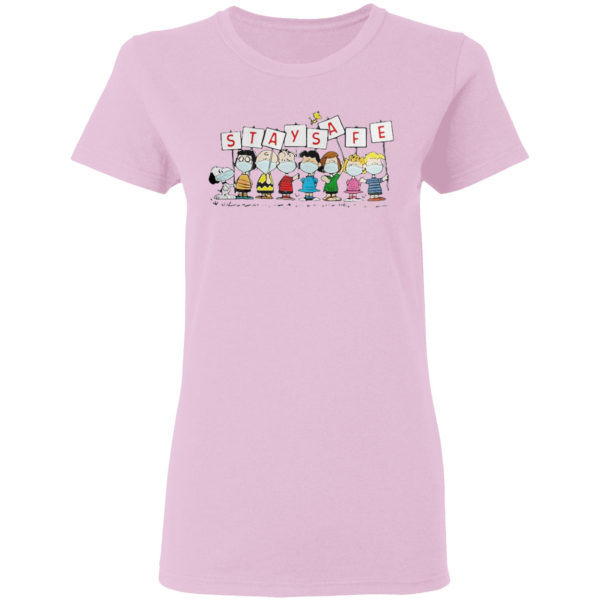 Snoopy and friends Stay Safe shirt