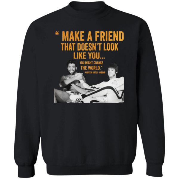Kareem Abdul Jabbar Make A Friend Shirt