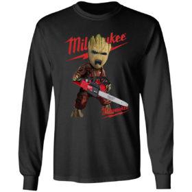 Baby Groot Hug Milwaukee shirt