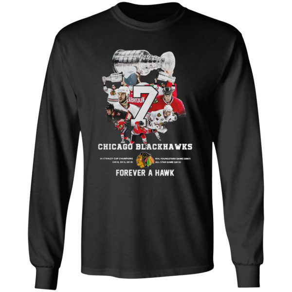 7 Chicago Blackhawks Forever A Hawk Shirt