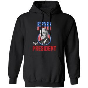Franklin Delano Roosevelt Fdr For President Campaign Shirt