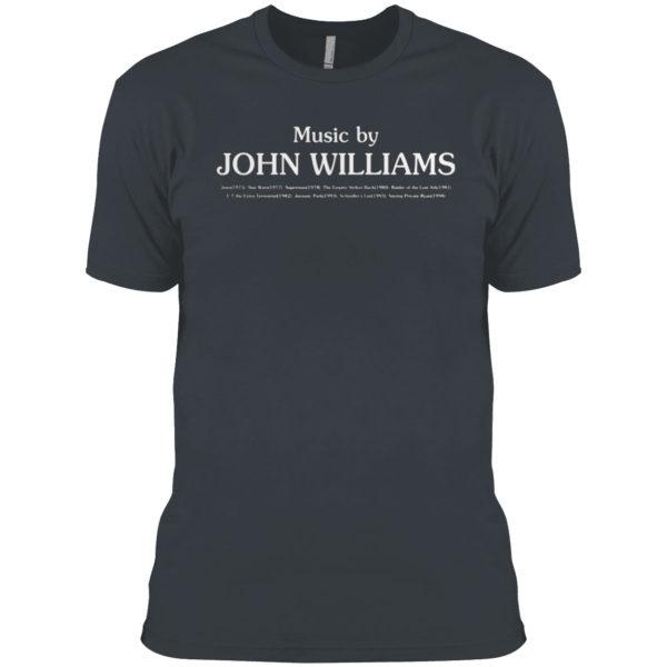 Music By John Williams Shirt