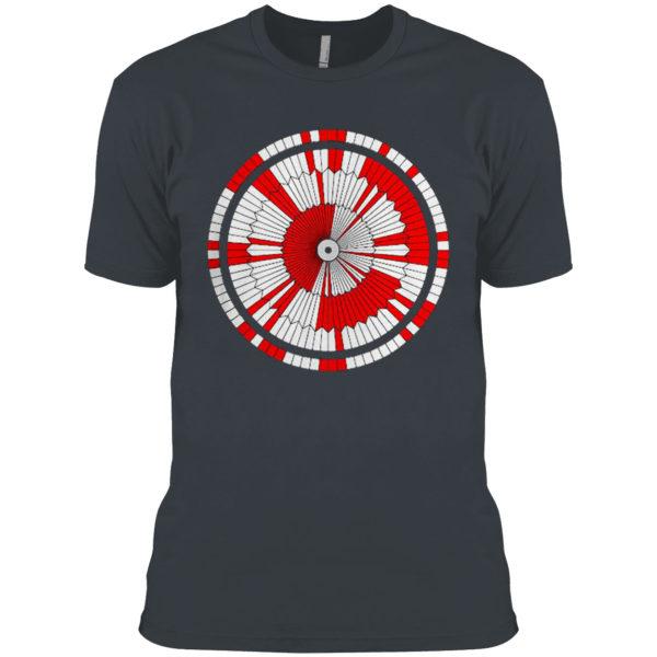 Dare Mighty Things Mars Rover Perseverance Parachute Code Shirt