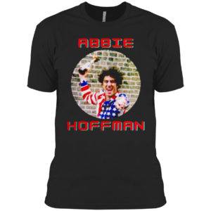 Abbie Hoffman In His American Flag Shirt