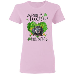 St Patrick's Day One Lucky Dog Mom Shirt