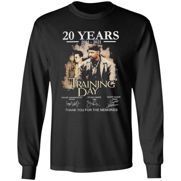 20 years Trading Day thank you for the memories signatures shirt
